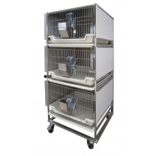 Conventional rabbit cage system AWTech EVRASIA.PLUS-3