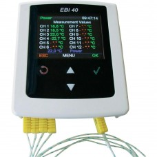 Multi-Channel Temperature Data Logger Ebro EBI 40-TC-02