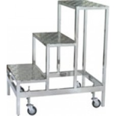 Movable Stainless Steel Ladder 3W TT-50